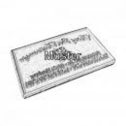 Ersatztextplatten Datumstempel