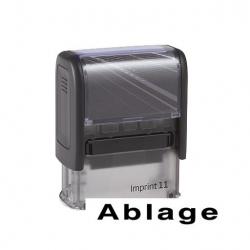 Lagerstempel Imprint mit Lagertexten