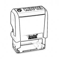 Lagerstempel Trodat Eco-Printy Officestempel
