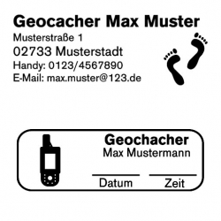 Motivstempel GEOCACHINGSTEMPEL