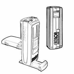 Taschenstempel mobile Stempel
