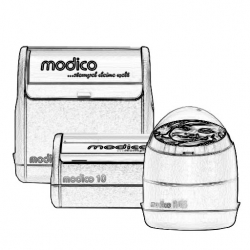 Textstempel Modico Flash