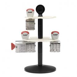 Trodat Stempelträger 3014, Kunststoff für 14 Stempel