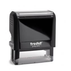 Trodat Printy 4913 Arztstempel mit Text und Motiv Aesculapstab