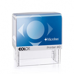 Colop Printer 40 Textstempel mit Microban 58x22 mm