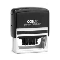 Colop Printer 60 Datumstempel mit Text 76x37 mm