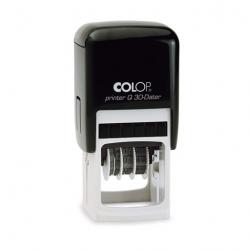 Colop Printer Q30 Datumstempel mit Text 31x31 mm