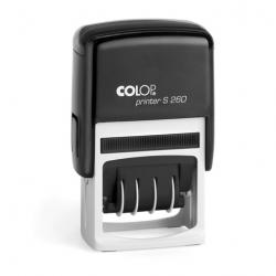 Colop Printer S260 Datumstempel mit Text 45x24 mm