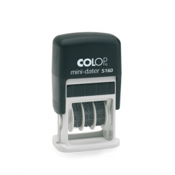 Colop Printer S160 Datumstempel mit Text 25x5 mm