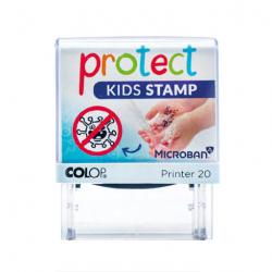 Colop Protect Kids Stempel Händewaschen