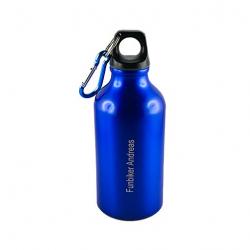 Trinkflasche 350 ml mit Gravur (Fläche 80x20 mm)