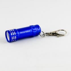 LED Schlüsselanhänger Mini Taschenlampe mit Gravur