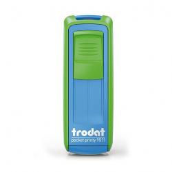 Mobile Printy 9411 Geocachingstempel Motiv Lupe m. Rahmen