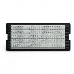 Original Trodat Gummitypen 6005 mit Schrifthöhe 5 mm