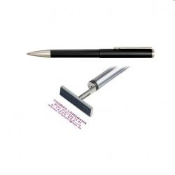 Heri Classic 3102 Stempelkugelschreiber 34x8 mm schwarz