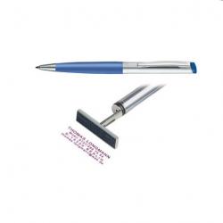 Heri Kugelschreiber Diagonal Color 6033 silber/ hellblau