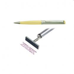 Heri Diagonal Wave 6271 Stempelkugelschreiber 34x8 mm