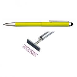 Heri Stamp & Touch Pen 3309 Stempelkugelschreiber Grün