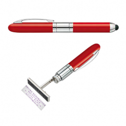 Heri Mini Smartpen 4374R Stempelkugelschreiber rot