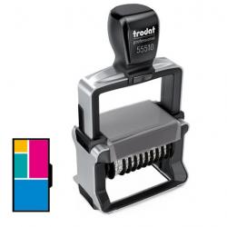 Trodat Professional 55510/PL Mehrfarbiger Ziffernstempel