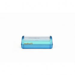 Modico P3 Taschenstempel mit Textplatte 49 x 15 mm bis 4 Zeilen Text