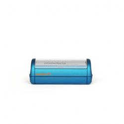 Modico P4 Taschenstempel mit Textplatte 57 x 20 mm bis 5 Zeilen Text