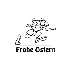 Trodat Printy 4923 eiliger Hase Frohe Ostern