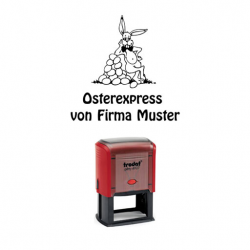 Trodat Printer 4927 Osterexpress Hase m. Eiern