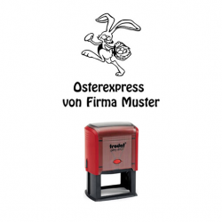 Trodat Printer 4927 Osterexpress Hase m. Korb