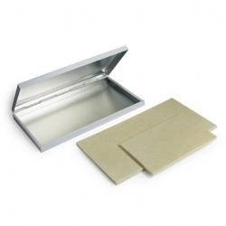 Coloris Plattenstempelkissen Soli2 11x7 cm ungetränkt Metallgehäuse