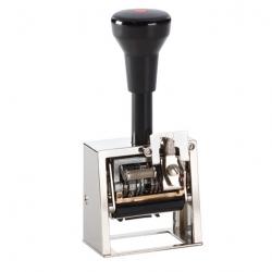 Reiner DN41a Numeroteur mit Datum und Textplatte 45x25 mm