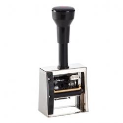 Reiner DN53a Numeroteur mit Datum und Textplatte 50x30 mm