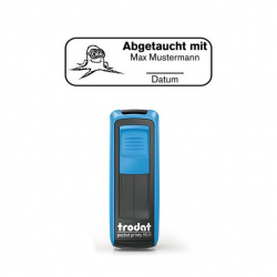 Pocket Printy 9511 Tauchstempel 58 Taucherstempel Krake