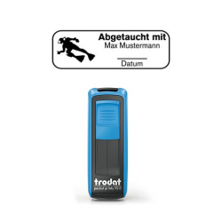 Pocket Printy 9511 Tauchstempel 72 Taucherstempel Taucher