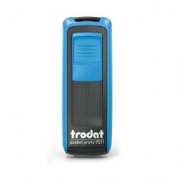 Mobile Printy 9411 Tauchstempel 74 Taucherstempel Taucher schwimmend eckig