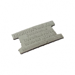 Ersatztextplatte für Colop Classic Line 2106P Ziffernstempel
