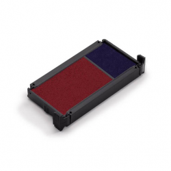Trodat Austauschkissen 6/4912/2 zweifarbig ( blau-rot) für Office-Stempel