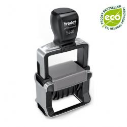 Trodat Professional 5440 B10 Datumstempel mit Text Gebucht - Journ. Fol.