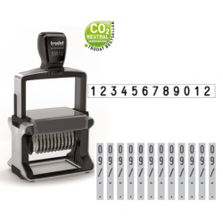 Trodat Professional 55512 4.0 Ziffernstempel 12-stellig 64x5 mm