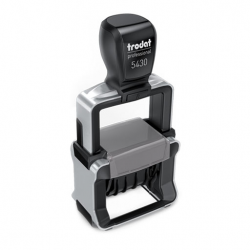 Trodat Professional 5430 4.0 Datumstempel mit Text 41x24 mm