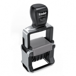 Trodat Professional 5431 4.0 Datumstempel mit Text 41x24 mm