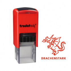trodat edy FIX - Motivationsstempel Drachenstark - Printy 4922
