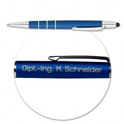 WEDO Touchpen Newbie 2-in-1 Kugelschreiber mit Gravur