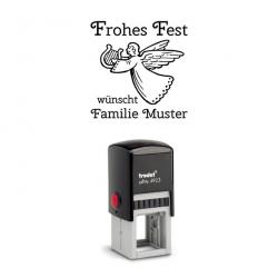 Trodat Printy 4923 08 Motiv Engel mit Text Frohes Fest