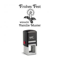 Trodat Printy 4923 10 Motiv Frohes Fest wünscht